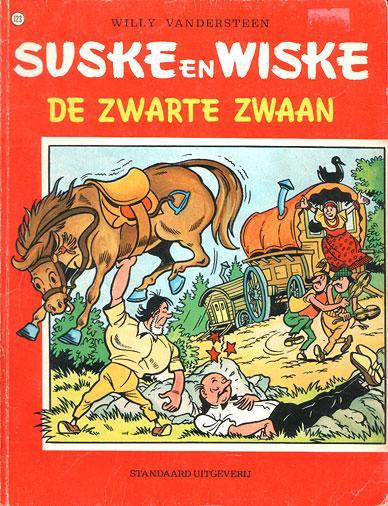 Suske en Wiske 123 De zwarte zwaan