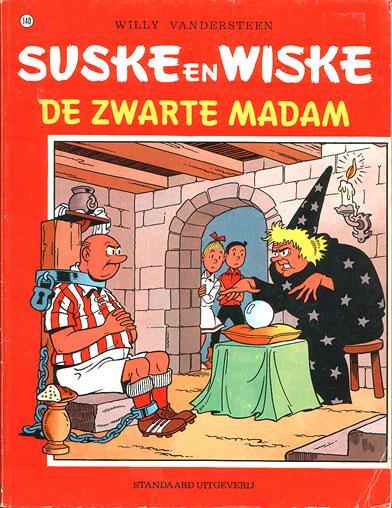 Suske en Wiske 140 De zwarte madam