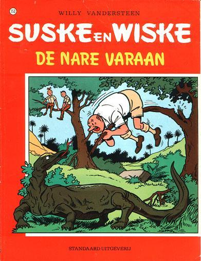 Suske en Wiske 153 De nare varaan
