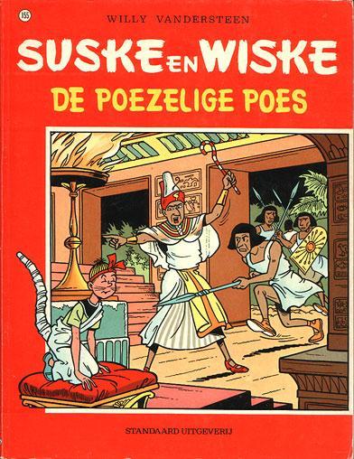 Suske en Wiske 155 De poezelige poes