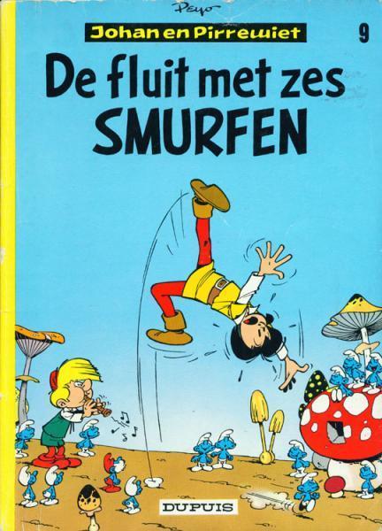 Johan en Pirrewiet 9 De fluit met zes Smurfen