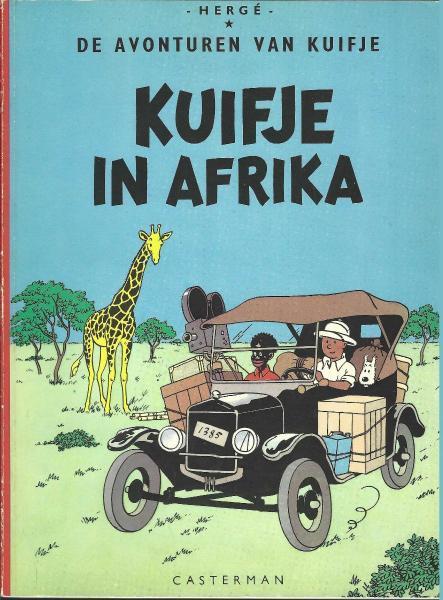 Kuifje 1 Kuifje in Afrika