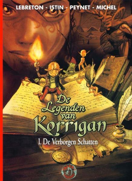 De legenden van Korrigan 1 De verborgen schatten