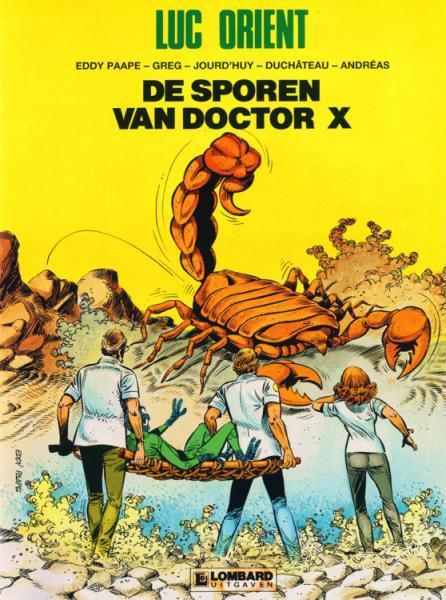 Luc Orient 17 De sporen van doctor X