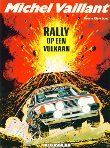 Michel Vaillant 39 Rally op een vulkaan