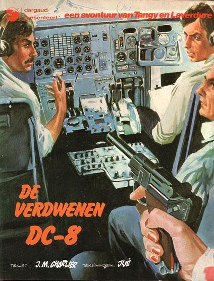 Tangy en Laverdure (Dargaud/Lombard/Oberon) 16 De verdwenen DC-8