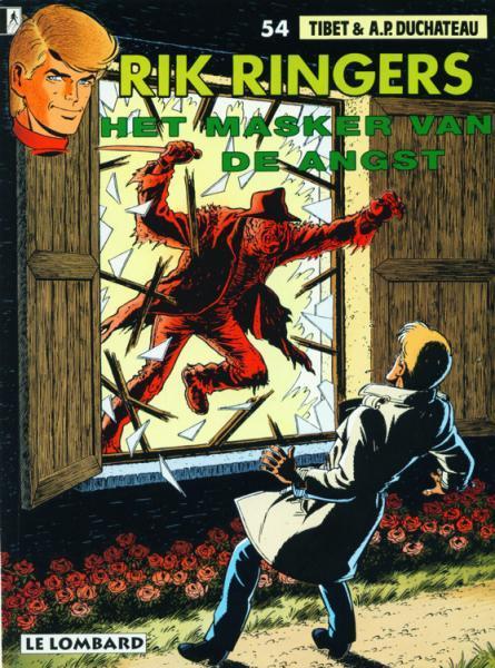 Rik Ringers 54 Het masker van de angst