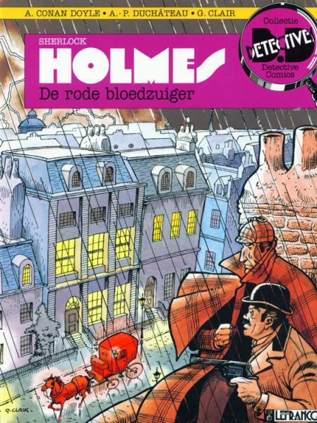 Sherlock Holmes (Lefrancq) 1 De rode bloedzuiger