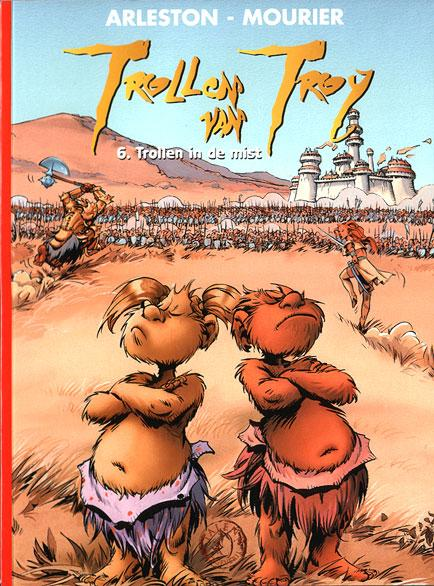 Trollen van Troy 6 Trollen in de mist