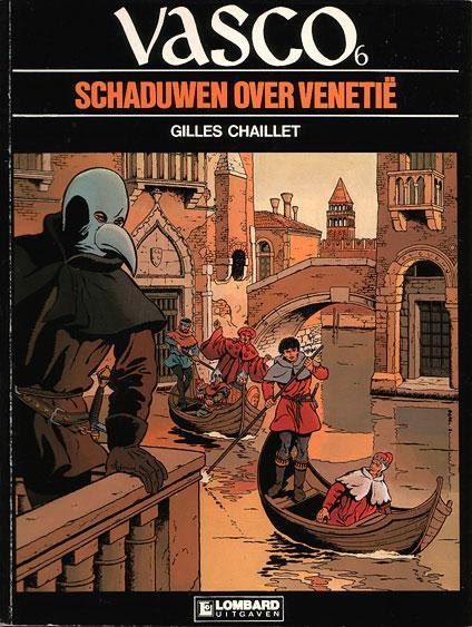 Vasco (Nederlands) 6 Schaduwen over Venetië
