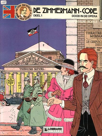 Victor Sackville, spion van Georges V 1 De Zimmermann-code, Deel 1: Dood in de opera