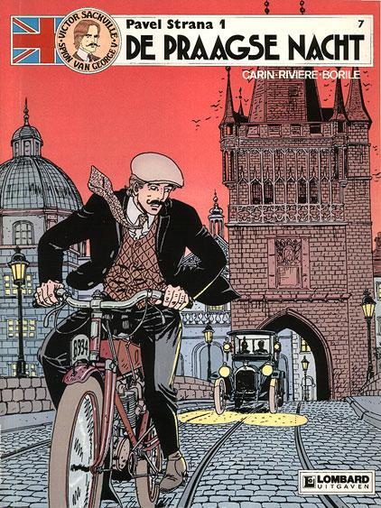 Victor Sackville, spion van Georges V 7 Pavel Strana 1: De Praagse nacht