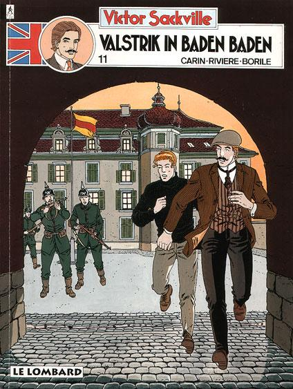 Victor Sackville, spion van Georges V 11 Valstrik in Baden Baden