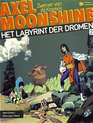 Axel Moonshine (Dargaud, Nederlans) 2 Het labyrint der dromen