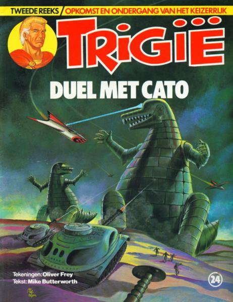 Trigië (Oberon) 24 Duel met Cato