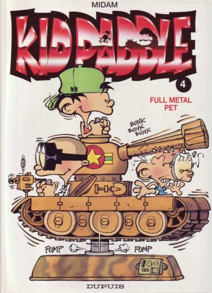Kid Paddle 4 Full metal pet