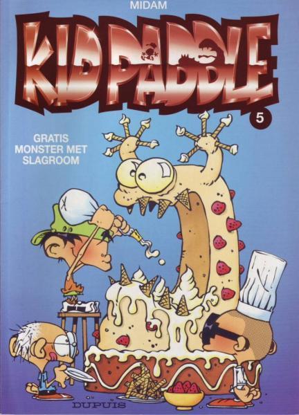 Kid Paddle 5 Gratis monster met slagroom