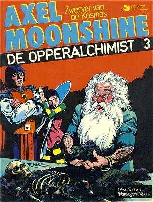 Axel Moonshine (Dargaud, Nederlands) 3 De opperalchimist