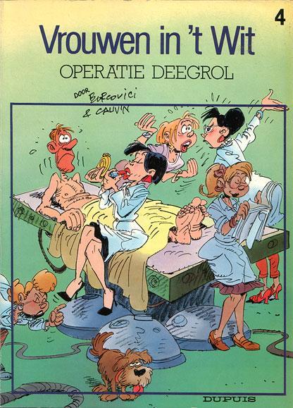 Vrouwen  in 't wit 4 Operatie deegrol