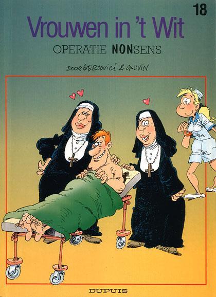 Vrouwen  in 't wit 18 Operatie NONsens