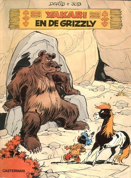 Yakari 5 Yakari en de grizzly