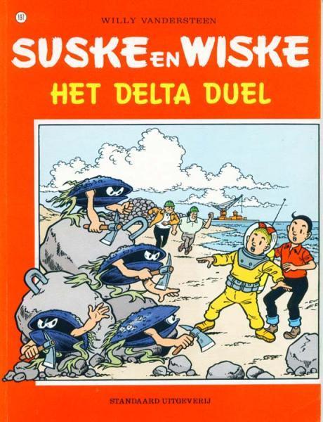 Suske en Wiske 197 Het Delta duel