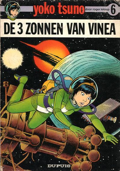 Yoko Tsuno 6 De 3 zonnen van Vinea