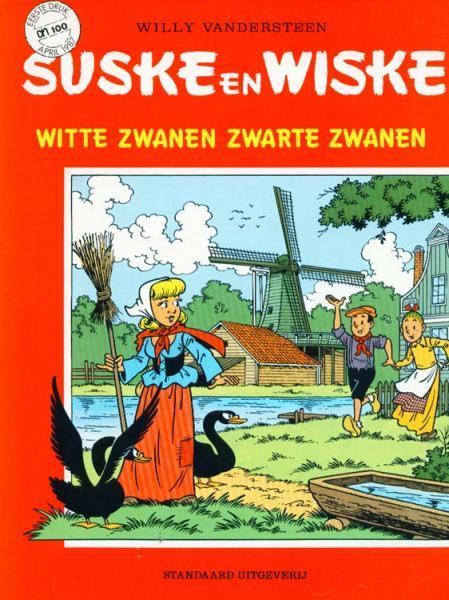 Suske en Wiske (reclame/kortverhaal) 22 Witte zwanen zwarte zwanen