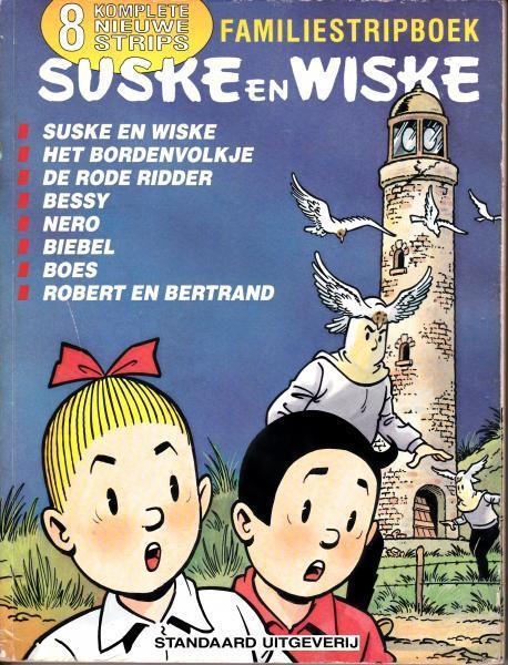 Suske en Wiske familiestripboek 2 Familiestripboek