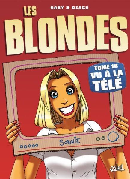 De blondjes 18 Vu à la télé