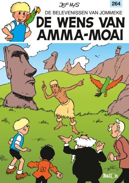Jommeke 264 De wens van Amma-Moai