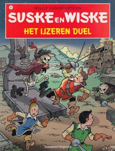 Suske en Wiske 321 Het ijzeren duel