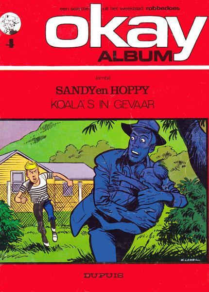 Sandy & Hoppy (Dupuis) 1 Koala's in gevaar