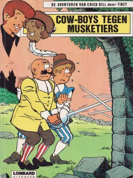 Chick Bill 22 Cow-boys tegen musketiers