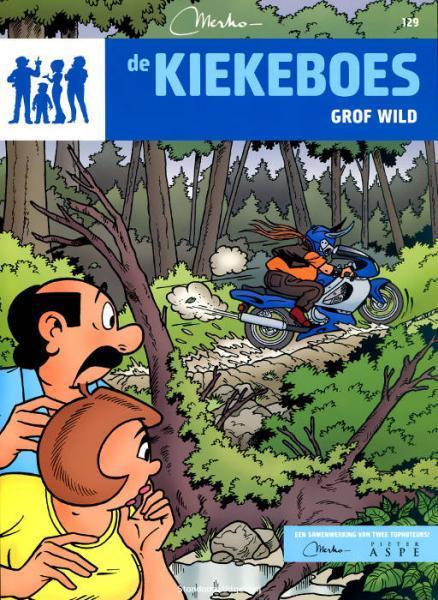 De Kiekeboes 129 Grof wild
