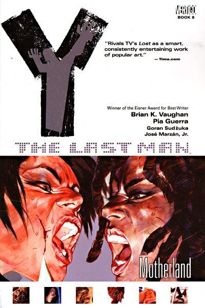 Y: The Last Man INT 9 Motherland
