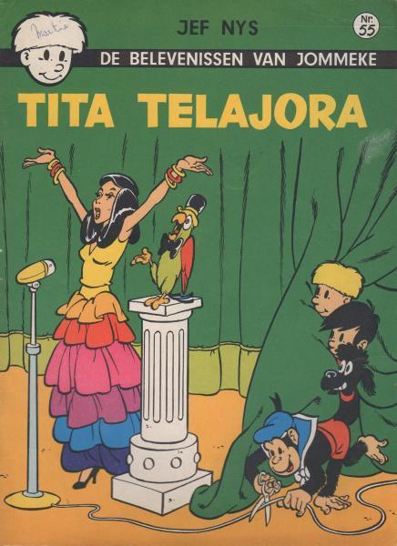 Jommeke 55 Tita Telajora