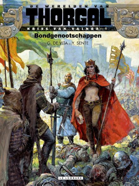 De werelden van Thorgal - Kriss van Valnor 4 Bondgenootschappen