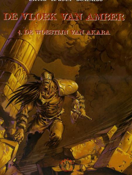 De vloek van amber 4 De woestijn van Akaba