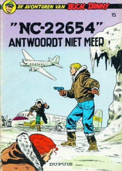 """Buck Danny 15 """"NC-22654"""" antwoordt niet meer"""