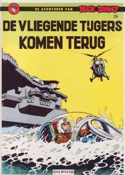 Buck Danny 26 De vliegende tijgers komen terug
