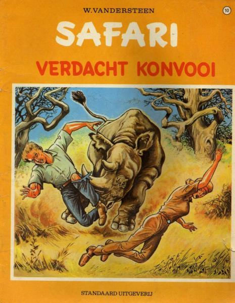 Safari 10 Verdacht konvooi