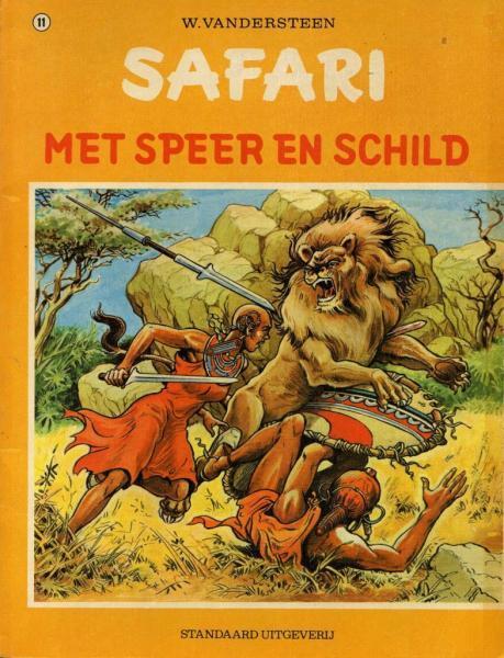 Safari 11 Met speer en schild