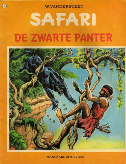Safari 14 De zwarte panter