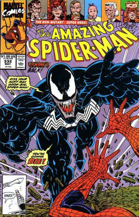 The Amazing Spider-Man 332 Sunday in the Park with Venom!