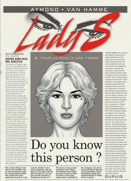 Lady S. 9 Pour la peau d'une femme