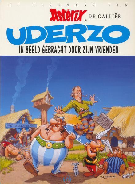 Asterix S3 Uderzo in beeld gebracht door zijn vrienden