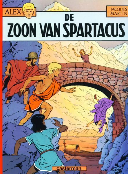 Alex 12 De zoon van Spartacus