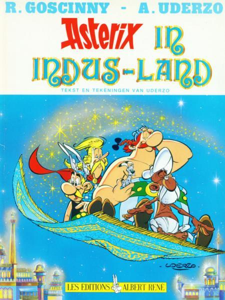 Asterix 28 Asterix in Indus-Land