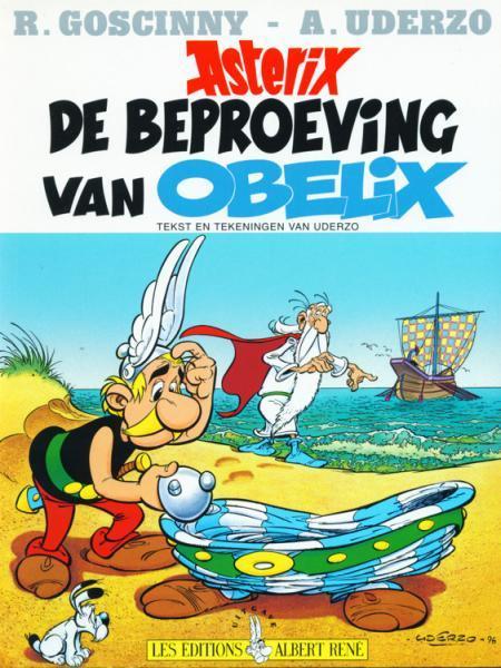 Asterix 30 De beproeving van Obelix